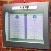 Convex Menu Case